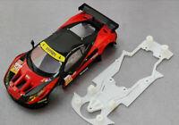 Chasis Ferrari 458 compatible con Carrera marca Kat Racing coche no incluido