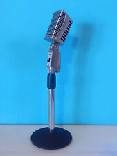 Vintage 1960S Lafayette PA-408 Dynamic Microphone With NOS Desk Stand Deco Old