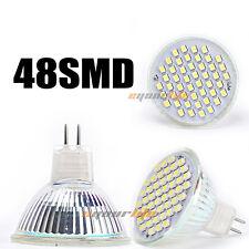 Eyourlife LED Spotlight Bulb Light Lamp MR16 3528 48 SMD Warm White 110V 4W