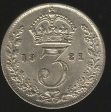 More details for 1921 george v silver threepence coin | british coins | pennies2pounds