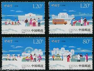 China Dream Happiness set 2015-15 of 4 stamps mnh schoolbus Ferris Wheel #4291-4