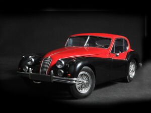 1:8 JAGUAR XK140 COUPE by WESPE sport car resin model ready built PSBS40