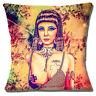 Liz Taylor Cleopatra Cushion Cover 16x16 inch 40cm Fab Ciraolo Modern Art Multi