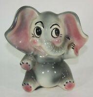 Vintage Ceramic Elephant Piggy Bank