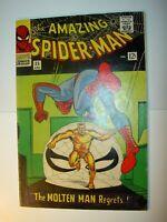 Amazing Spider-Man #35 FN+, 1966, Molten Man app., Steve Ditko art BV=$115
