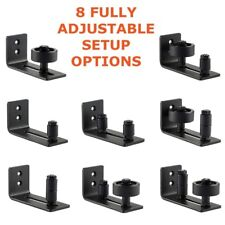 Barn Door Floor Guide Stay Roller Adjustable Wall Mount Guide 8 Different Setups