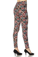 ONE SIZE Valentine Heart Leggings TC/39 Buttery Soft Alway Brushed