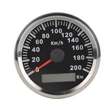 200Km/h 85mm Car Motor GPS Antenna Speedometer Speedo Digital Gauges RS