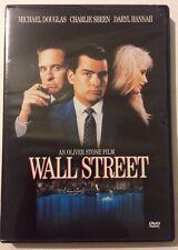 Wall Street (DVD, 2000, Academy Awards Collection) Michael Douglas Charlie Sheen