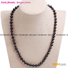 Cultured Pearl Beads Jewelry Beaded Healing Long Princess Necklaces For Mom