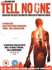 FRENCH CRIME THRILLER DVD – TELL NO ONE – KIRSTIN SCOTT THOMAS