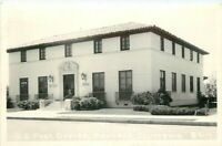 Cook Manteca California US Post Office #4117 RPPC Photo Postcard 20-12885