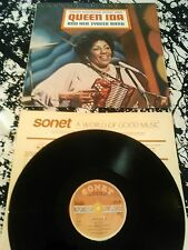 QUEEN IDA AND HER ZYDECO BAND - CAUGHT IN THE ACT LP / UK SONET SNTF 951