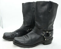 Dingo Mens Sz 11.5 Harness Leather Motorcycle Biker Rider Work Black Boots