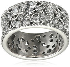 Pandora Ring 190965CZ Shimmering Leaves Size (7.5) 56 Tag & Box Include