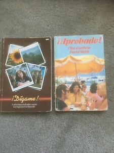 2 Vintage Spanish Language Textbooks