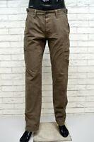 HUGO BOSS Pantalone Cargo Uomo Taglia 48 Jeans Chino Gamba Dritta Pants Men's