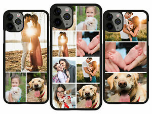 COLLAGE PHOTO PHONE CASE PERSONALISED FOR GALAXY ADD IMAGE PHOTO S8 S9 S9 PLUS