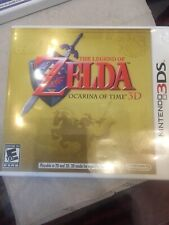 NINTENDO 3DS THE LEGEND OF ZELDA OCARINA OF TIME 3D with INSTRUCTION BOOKLET