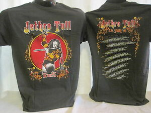 Jethro Tull T-Shirt Tee Ian Anderson British Rock Band Music Apparel New 01