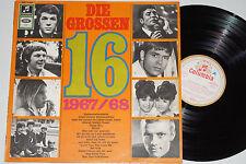 DIE GROSSEN 16 - 1967/68  (Pink Floyd, The Lords, Ralf Bendix) LP Columbia 1967