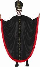 Adult Men's Satanic Cardinal Halloween Fancy Dress Costume