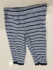 Carter's navy and gray stretch pants with football graphic sz 24 mos