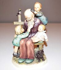 "New ListingGoebel Hummel Figurine ""At Grandpa's"" #621 - Exclusive Edition - 8"" Tall"