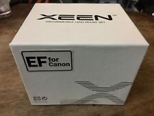 Xeen Canon Mount Kit Ef 20, 24, 35, 50, 85mm Brand New (never Used)