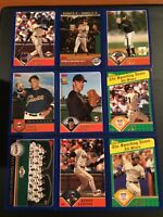 2003 Topps SAN FRANCISCO GIANTS Complete Team Set MINT 27 Cards LOOK !
