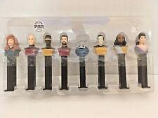 Star Trek Next Generation Pez Dispenser Set Limited Edition Figurine