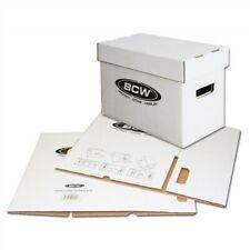 Bundle /10 Bcw Short Cardboard Comic Book Storage Boxes box holds 150-175 comics