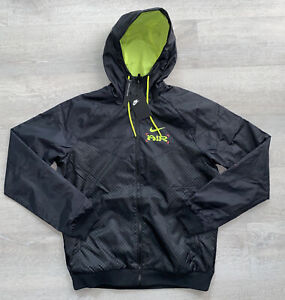 Nike Catching Air Windrunner Jacket Size Medium Black Zip CW4708-010 New