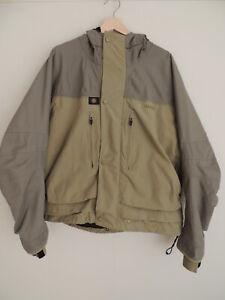 Hardy EWS Mid Length Fishing Jacket + Original Bag....Size Large.