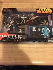 Star Wars Battle Pack: Jedi Vs Sith Misb