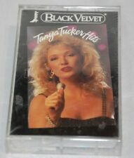 Tanya Tucker Hits - Black Velvet [Cassette 1992] Liberty Records NEW