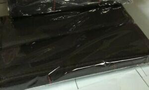 2Pcs Black High Quality Car Seat Belt Shoulder Cover Pad fit AUDI  Cars  photo 2