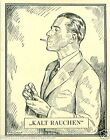 Germany Cigarettes cold Smoking TOBACCO HISTORY HISTOIRE DU TABAC IMAGE CARD 30s