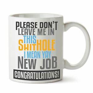 Leaving Gifts Ideas Funny Retirement Gift Mugs for Work Boss New Job