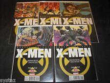 X-MEN MARVEL KNIGHTS 1-5 BRAHM REVEL MARVEL COMIC RUN SET 1 2 3 4 5 TOTAL