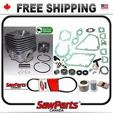 Fits STIHL TS350/360 08 CYLINDER/PISTON BEARINGS/GASKET Nikasil 47mm REBUILD KIT