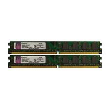 Kingston 4GB 2x2GB Kit 2Rx8 PC2-6400U KVR800D2N6/2G low profil 9905429-013.A00LF