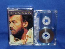 JOE COCKER COCKER - RARE AUSTRALIAN CASSETTE TAPE NM