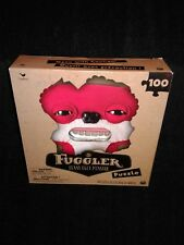 New in Box Fuggler Funny Ugly Monster 100 Piece Puzzle Spin Master Cardinal Red