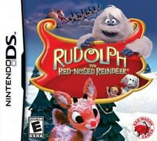 Rudolph the Red-Nosed Reindeer Nintendo DS Video Game NIB Red Wagon Games 2010