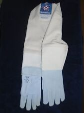 Goatskin Beekeeping gloves  size Small 1 Pair USA and Union Made    Apiary