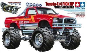 Tamiya 47394 1/10 RC Pick-Up Truck Kit Toyota Mountain Rider Hilux 4x4 3-Speed