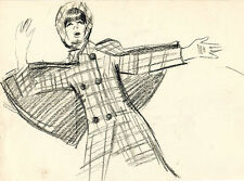 FASHION DESIGNS on the page from the album of U/K Russian artist