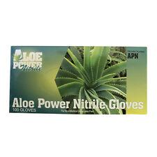 Lightning Nitrile Gloves Aloe Power - Large