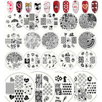 BORN PRETTY Nail Stamping Image Plate  Stamp Design Template Stencil DIY